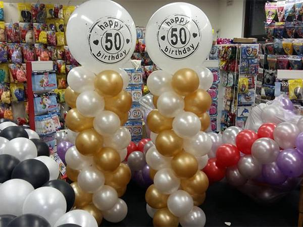 ballon pilaren ballon trossen - The Balloon Factory